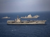 Video : US, Indian Carrier Battle Groups Lead Phase 2 Of Asia's Largest Naval War Games