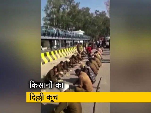 Videos : किसान आंदोलन : करनाल में पुलिस जवानों के लिए लंगर