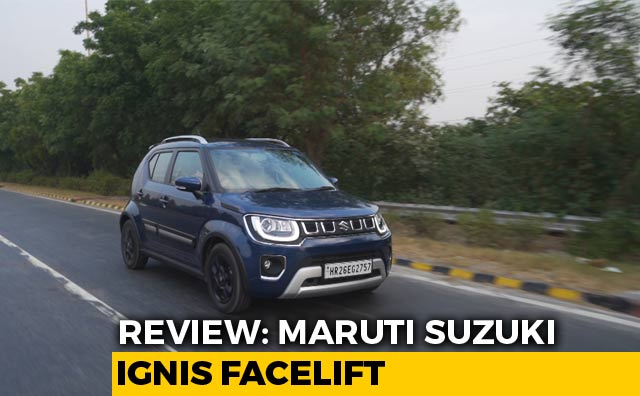Video : Maruti Suzuki Ignis Facelift Review
