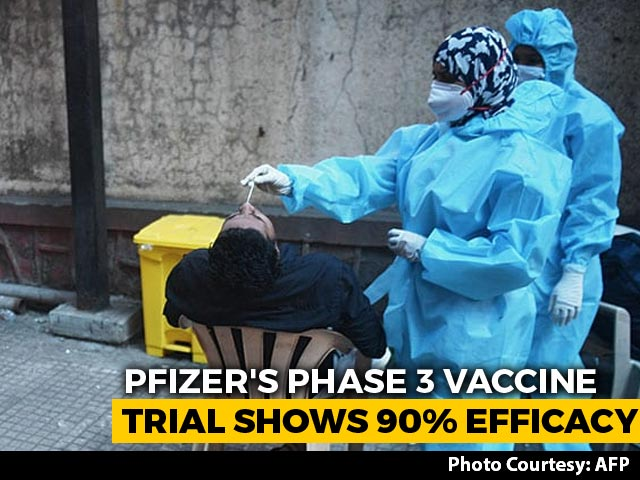 Video : Pfizer Says Their COVID-19 Vaccine Is More Than 90% Effective