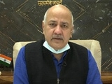 "Video : ""Look At PM, Home Minister's City"": Manish Sisodia On Covid Criticism"
