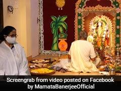 Low-Key Celebrations At Mamata Banerjee's Residence On Kali Puja