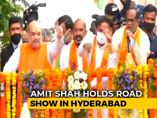 Video : After Yogi, JP Nadda, BJP Unleashes Amit Shah For Hyderabad Civic Polls