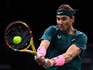 Rafael Nadal Beats Jordan Thompson To Reach Paris Masters Quarter-Finals