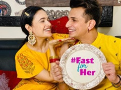 """""""Fast For Her"""": Prince Narula's Message To Men On Karwa Chauth"""