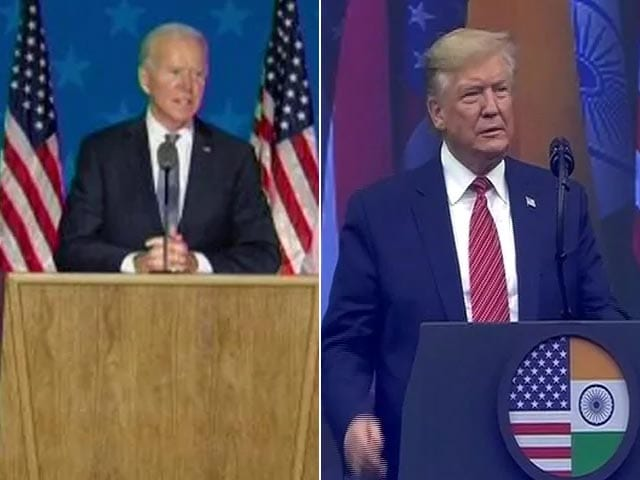 Video : Donald Trump vs Joe Biden: Tight Race Down To Key States