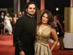 Gold, Black And Pink: The Many Shades Of Ali Fazal And Richa Chadha's Red Carpet Moments