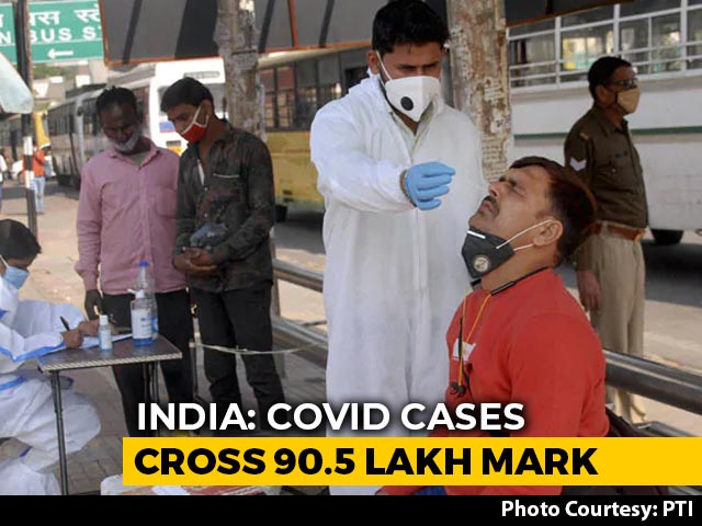 Video: 46,232 New COVID-19 Cases, 564 Deaths In A Day, India Tally At 90.5 Lakh