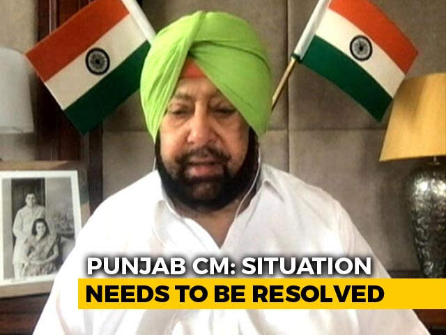 Video: Amarinder Singh To Meet PM Modi, Amit Shah Over Rail Blockade By Farmers