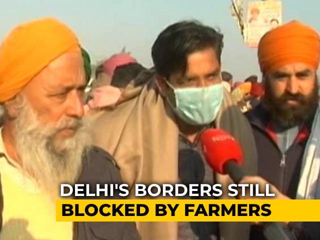 Video : Farmers' Protest: Delhi's Borders Still Blocked