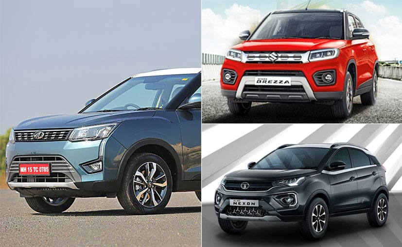 Maruti, Tata Motors and Mahindra are offering discounts on subcompact SUVs
