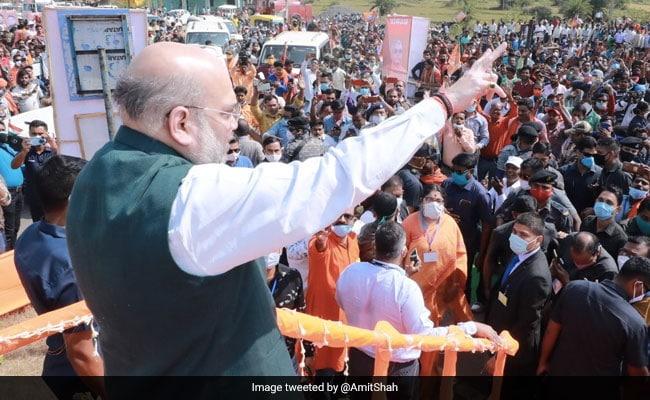 200 Seats For BJP In Bengal, Says Amit Shah. Trinamool Dismisses
