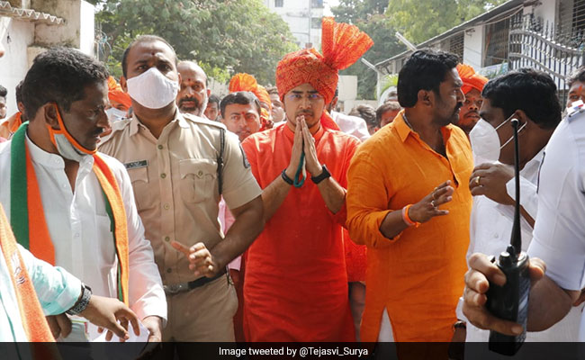 BJP's Tejasvi Surya Charged With Trespass After Hyderabad University Visit