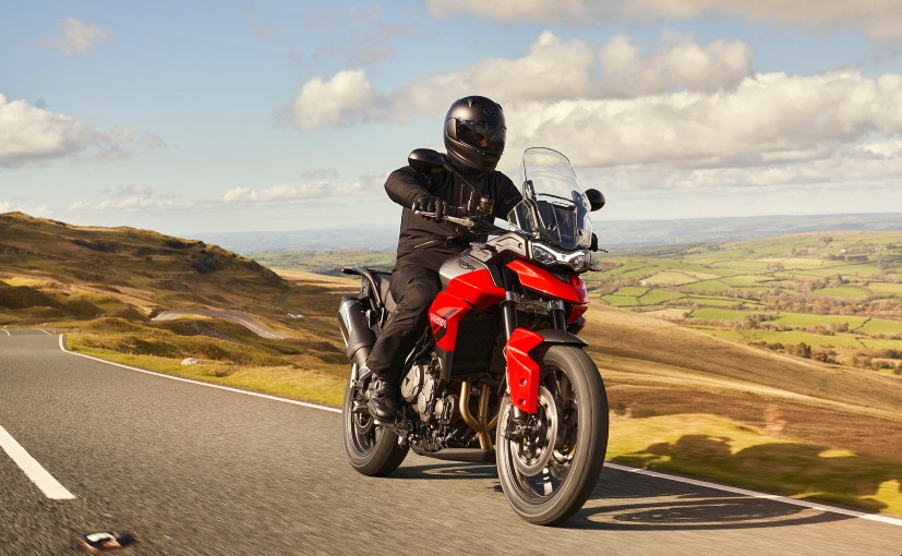 The Triumph Tiger 850 Sport is the entry-level model in the Triumph Tiger family