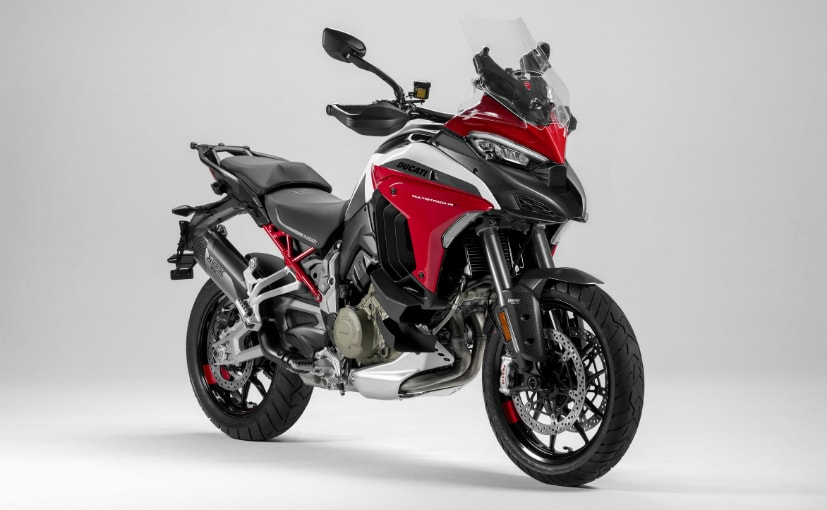The Ducati Multistrada V4 has been recalled in the North American market