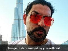 """Hi Handsome"": Hazel Keech Teases Yuvraj Singh On Burj Khalifa Trip. See Pics"