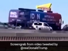 Trump Tweets Clip Of Alleged Harassment Of Biden Campaign Bus, FBI Probes