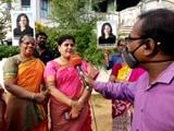 Video : Early Diwali In Kamala Harris' Grandfather's Village In Tamil Nadu