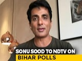 """Video: """"Sometimes People Give You A Second Chance"""": Sonu Sood On Bihar Result"""