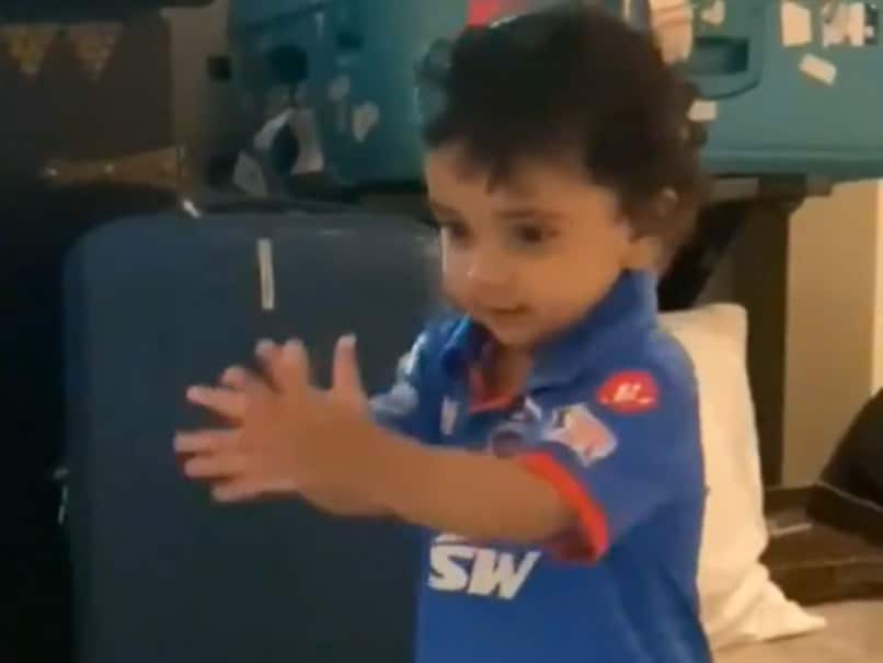 "IPL 2020, DC Vs RCB: Ajinkya Rahane's Daughter ""Super Impressed With Papa"", Cheers For Him In Cute Video. Watch"