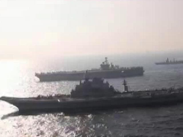 Video : Malabar Exercise: Indian, US Navies In War Games