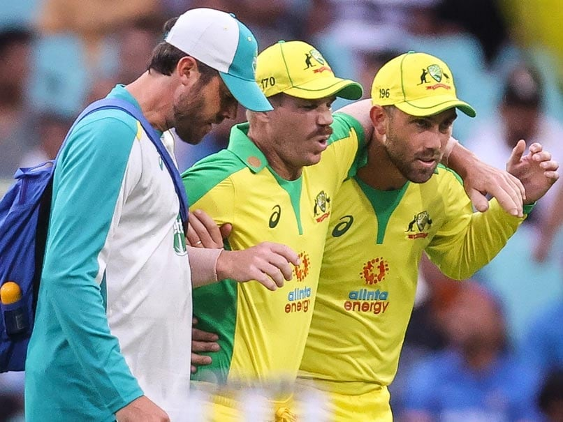 India vs Australia: David Warner Limps Off Field With Groin Injury In 2nd ODI