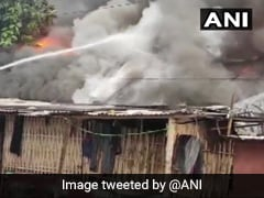Over 10 Houses Destroyed In Massive Fire In Assam's Jorhat