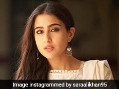 Sara Ali Khan Goes Back To Ethnic Classics In A Stunning White <i>Salwar Kameez</i> Suit