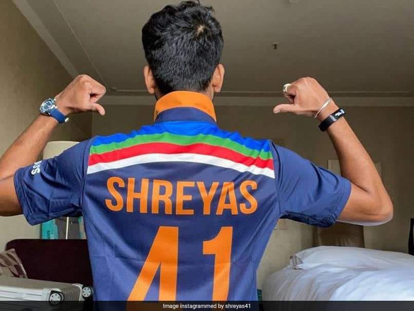 "Australia vs India 2020 Series: ""Pumped Up"" Shreyas Iyer Shows Off New India Jersey. See Pics"