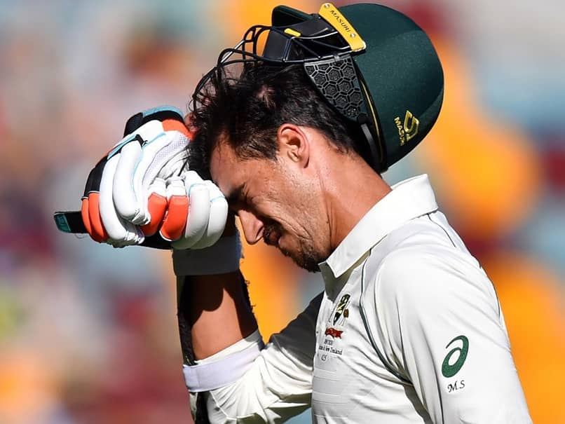 Mitchell Starcs Angry Reaction As Team Declares With Him Batting On 86. Watch
