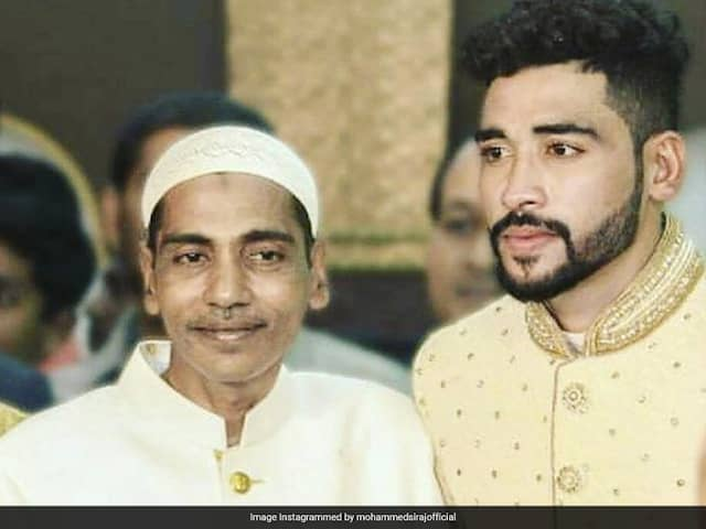 Ganguly Posts Condolence Message For Siraj On His Fathers Death