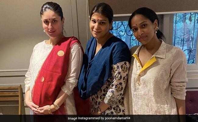 Diwali 2020: Inside Pregnant Kareena Kapoor's Mini Celebrations With Mom Babita, Masaba Gupta And Manager Poonam Damania