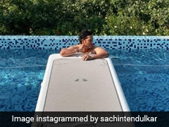 Sachin Tendulkar Shakes Off Monday Blues With A Chilled-Out Session By The Pool