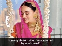 सना खान ने अपने हाथों में लगी मेहंदी की फोटो शेयर करते हुए पति के लिए लिखा प्यारा सा नोट , कहा- अगर मेरा इश्क...