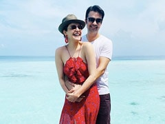 Kajal Aggarwal And Gautam Kitchlu Are Honeymooning In Maldives. See Pics