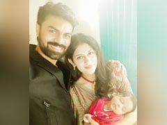 Gaurav Chopra Shares Perfect Family Pic With Wife Hitisha And Baby Boy