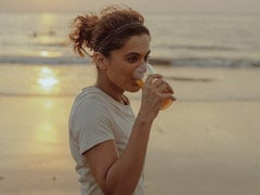 All About Taapsee Pannu And Her 'Sunset Drink' For Weight Loss And Muscle Pain