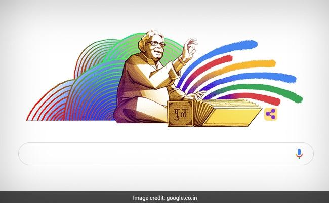 Google Doodle Honours Pu La Deshpande On His 101st Birth Anniversary