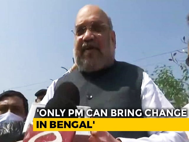 "Video : ""Public Anger Against Mamata Banerjee, BJP Will Win"": Amit Shah In Bengal"