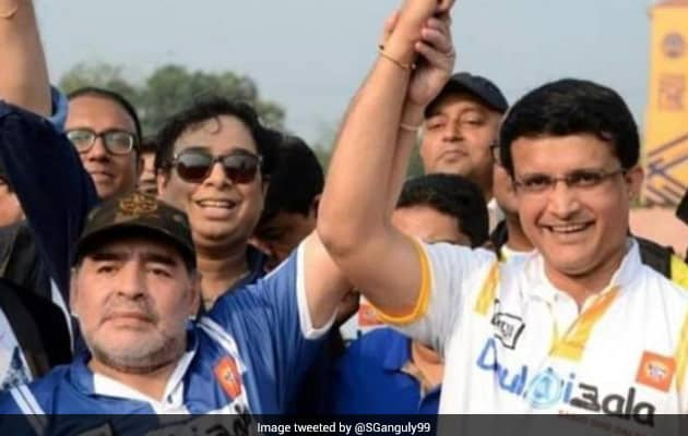 """""""My Hero Is No More"""": Ganguly Pens Emotional Tribute For Diego Maradona"""