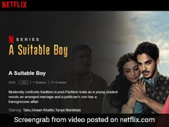 "Case Against Netflix Officials Over ""Kissing Scene In Temple"" In <i>'A Suitable Boy'</i>: Cops"