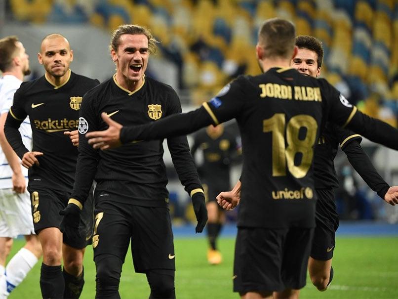 Champions League: Barcelona Stroll Into Last 16 After Thrashing Dynamo Kiev