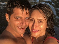 """Karanvir Bohra's Anniversary Wish For Pregnant Wife Teejay Sidhu Is All About """"New Adventures"""""""