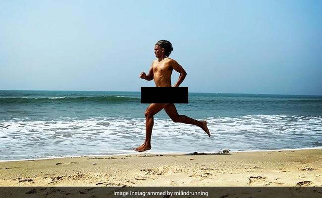 Milind Soman Runs Naked On Goa Beach, Cops Charge Him For 'Obscenity'