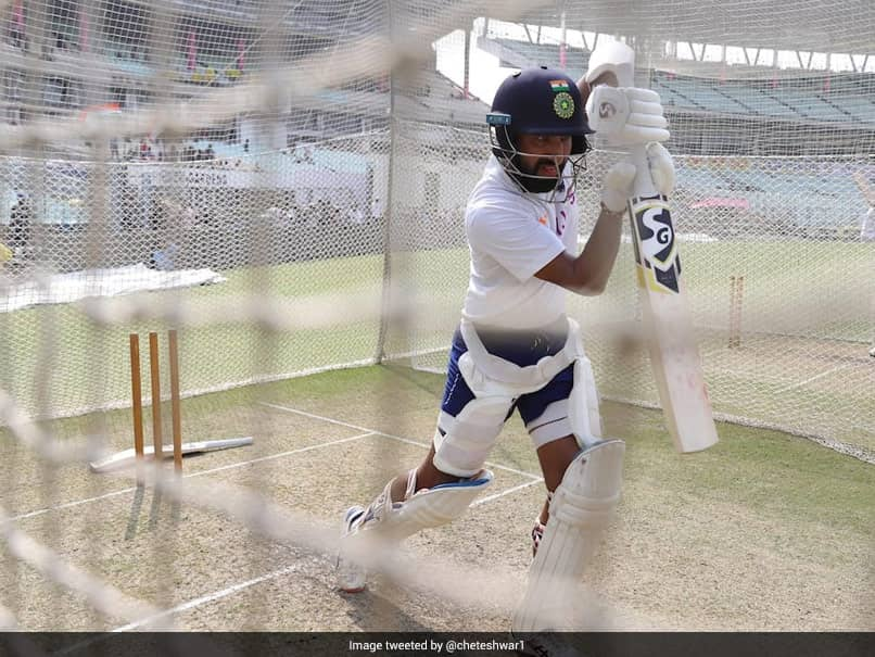 """Bowlers Be Prepared"": BCCI Shares Video Of Cheteshwar Pujara Hitting The Nets. Watch"