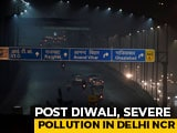 Video : Cracker Ban Defied On Diwali, Air Pollution Soars In Delhi, Nearby Areas