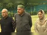 "Video : ""Congress Part Of Gupkar Alliance, Will Fight Polls"": Farooq Abdullah"
