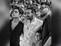 "International Men's Day: ""Proud"" Kajol's Big Shout Out To Husband Ajay Devgn And Son Yug"