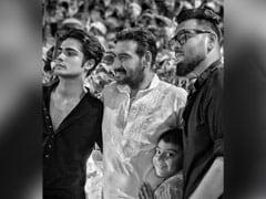 "International Men's Day: ""Proud"" Kajol's Big Shout Out To Husband Ajay Devgn And Son Yug"