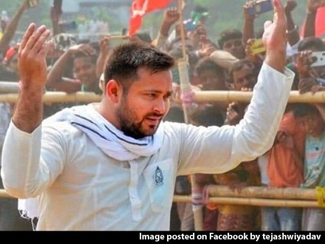 """Video : """"Behave Well"""": Tejashwi Yadav's Party Warns Supporters Ahead Of Counting"""